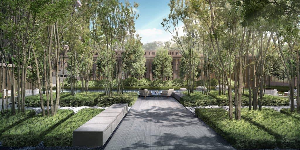 The Avenir Artist Impression Tranquility Garden
