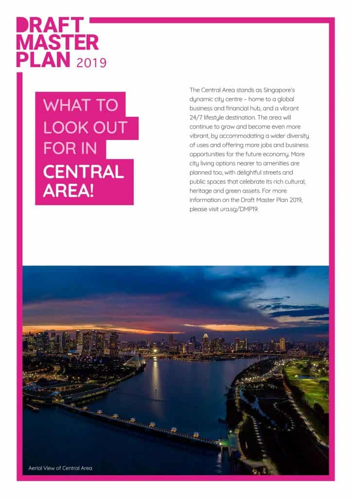 The Avenir URA Central Area Master Plan
