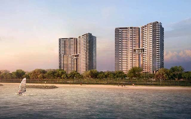 Seaside Residences Artist Impression