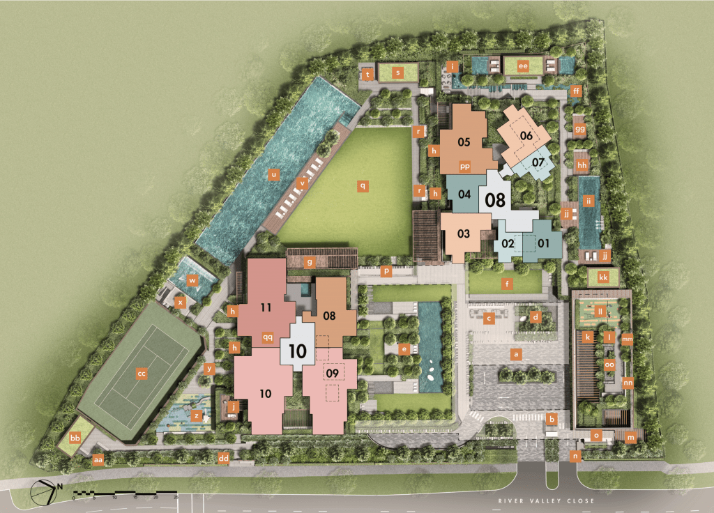 The Avenue Site Plan
