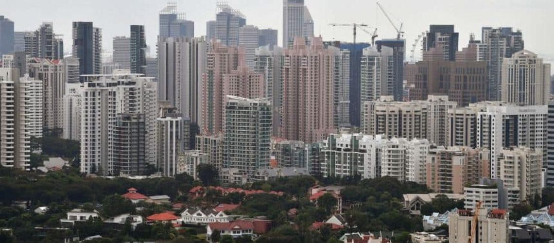 Singapore Private Home Prices Rise