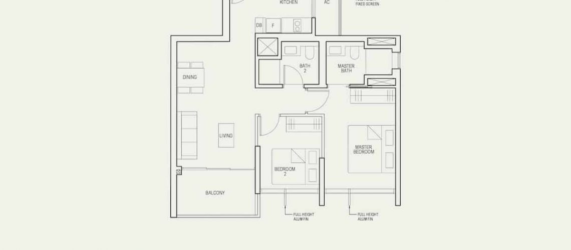 The Avenir Floor Plan Type 2a